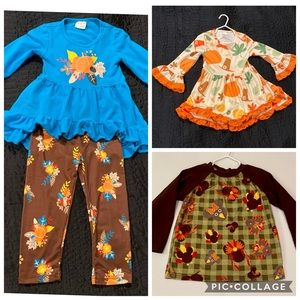 Toddler Girl's Outfits Bundle